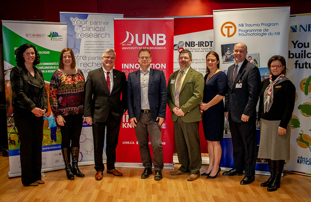 Research collaboration to benefit health care for New Brunswickers